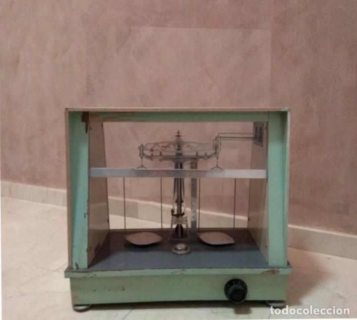 ANTIGUA BALANZA DE PRECISIÓN (Antigüedades - Técnicas - Medidas de Peso - Balanzas Antiguas)