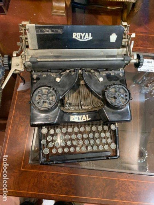Antigüedades: Máquina escribir antigua Royal - Foto 2 - 183779817