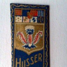 Antigüedades: HOJA DE AFEITAR ANTIGUA-HUSSER-STRASBOURG,CON SU CUCHILLA ORIGINAL.. Lote 183814717