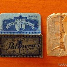 Antigüedades: FUNDA-SOBRE DE HOJA DE AFEITAR - ORIGINAL PALMERA PLATA HERBERZ - CON CUCHILLA - AÑO 1944. Lote 183826540