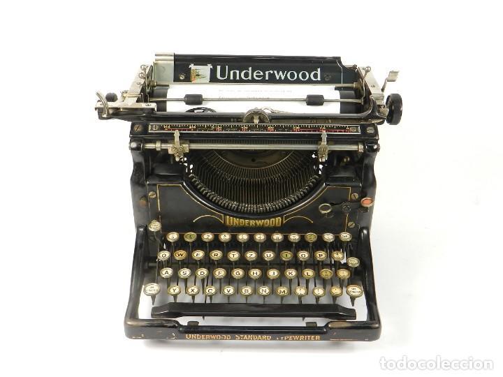 MAQUINA DE ESCRIBIR UNDERWOOD Nº5 AÑO 1916 TYPEWRITER SCRHEIBMASCHINE (Antigüedades - Técnicas - Máquinas de Escribir Antiguas - Otras)