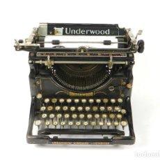 Antigüedades: MAQUINA DE ESCRIBIR UNDERWOOD Nº5 AÑO 1916 TYPEWRITER SCRHEIBMASCHINE. Lote 183834658