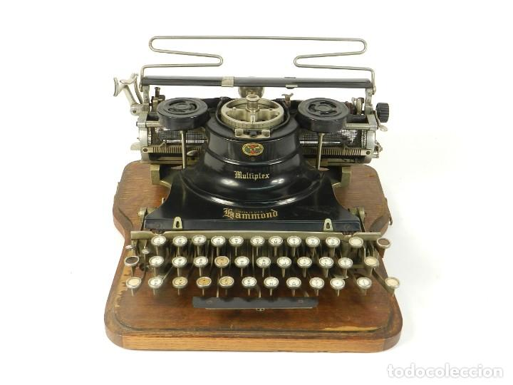 MAQUINA DE ESCRIBIR HAMMOND MULTIPLEX AÑO 1913 TYPEWRITER SCRHEIBMASCHINE (Antigüedades - Técnicas - Máquinas de Escribir Antiguas - Otras)