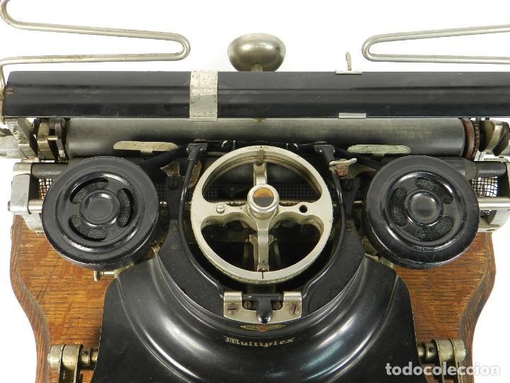 Antigüedades: MAQUINA DE ESCRIBIR HAMMOND MULTIPLEX AÑO 1913 TYPEWRITER SCRHEIBMASCHINE - Foto 6 - 183835897