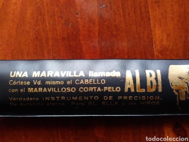 CORTA_PELO ALBI, AÑOS 60_70 (Antigüedades - Técnicas - Barbería - Varios Barbería Antiguas)