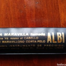 Antigüedades: CORTA_PELO ALBI. Lote 182707790