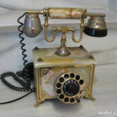 Teléfonos: ANTIGUO TELEFONO DE MARMOL. ITALIA.. Lote 183940678
