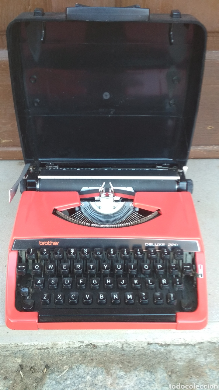BROTHER DE LUXE 220 (Antigüedades - Técnicas - Máquinas de Escribir Antiguas - Otras)