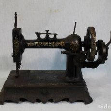 Antigüedades: MAQUINA DE COSER NEW NATIONAL 1890. Lote 184076760