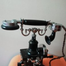 Teléfonos: TELEFONO ARAÑA. AÑO 1895. CARLSON ELECTRIC. MUY BUEN ESTADO. SE ADMITEN OFERTAS.. Lote 184084535