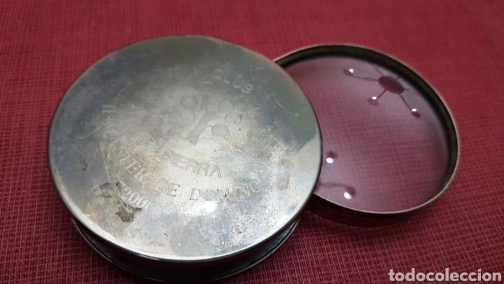 BONITA LUPA DE MESA DE DESPACHO (Antigüedades - Técnicas - Instrumentos Ópticos - Lupas Antiguas)