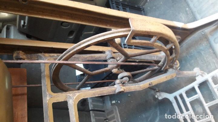 maquina coser alfa con mueble-para restaurar - Comprar