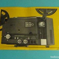 Antigüedades: MANUAL PROYECTOR BOLEX SM 80 ELECTRONIC. EN ITALIANO. Lote 184306413