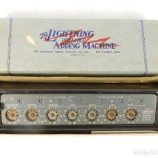 Antigüedades: SUMADORA THE LIGHTNING ADDING MACHINE. Lote 184348347
