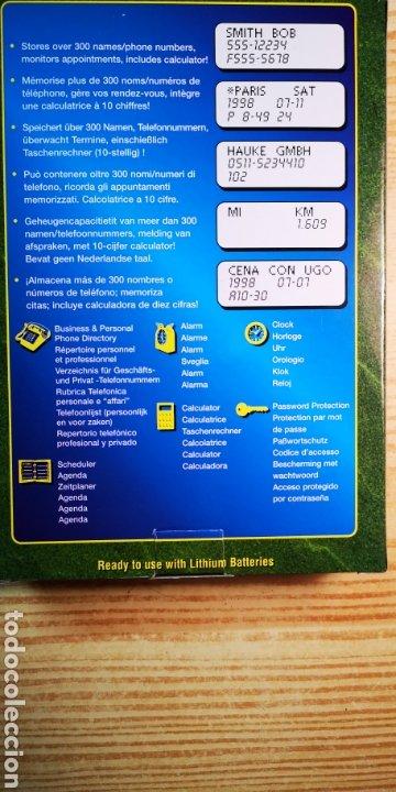 Antigüedades: Agenda electrònica Rolodex electrònics a estrenar con caja original - Foto 2 - 184362430