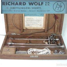 Antigüedades: ANTIGUO CYTOCOSPE RICHARD WOLF- TYPE 722 AÑOS 40 50 EN CAJA - CITOSCOPIO UROLOGIA UROLOGO MEDICINA. Lote 184396645