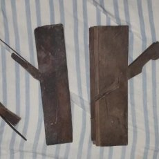 Antigüedades: LOTE DE 4 HERRAMIENTAS DE CARPINTERIA. Lote 184447221