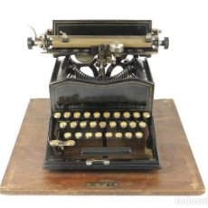 Antigüedades: MAQUINA DE ESCRIBIR SUN Nº2 AÑO 1901 TYPEWRITER SCREIBMASCHINE. Lote 184519706
