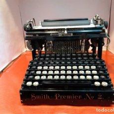 Antigüedades: ANTIGUA MÁQUINA DE ESCRIBIR. TYPEWRITER. SMITH PREMIER N°2.USA 1.895.. Lote 184598947