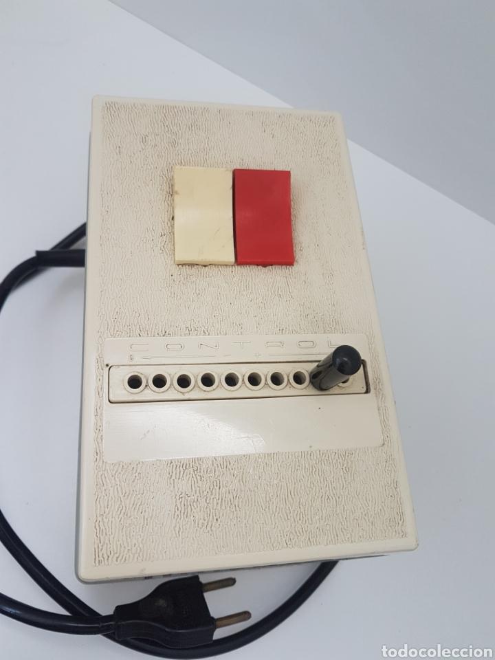 Antigüedades: Autotransformador variable 125/220 v . OMECA - Foto 2 - 184688356