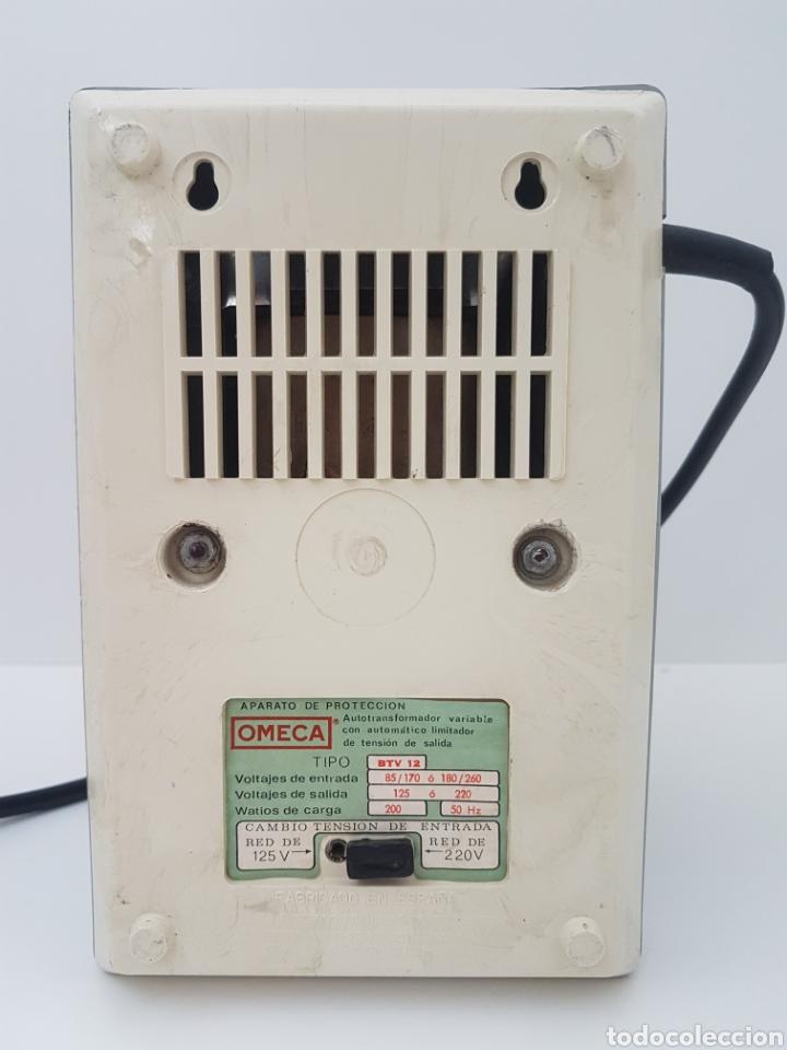 Antigüedades: Autotransformador variable 125/220 v . OMECA - Foto 5 - 184688356