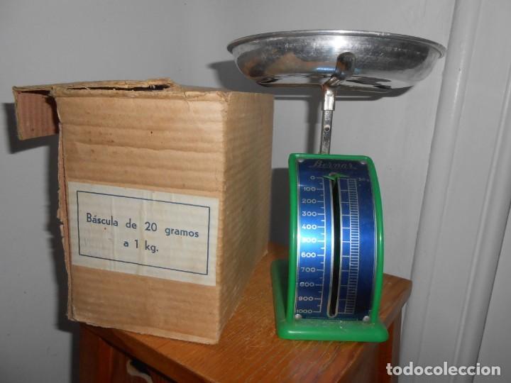 BERNAR -BASCULA DE COCINA DE 20GRS A 1 KG (Antigüedades - Técnicas - Medidas de Peso - Básculas Antiguas)