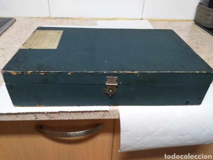 Antigüedades: ANTIGUA CAJA DOCTOR LUIS DE MARCH,EX ALUMNO Y AYUDANTE DEL DR MOURE - Foto 2 - 184719763