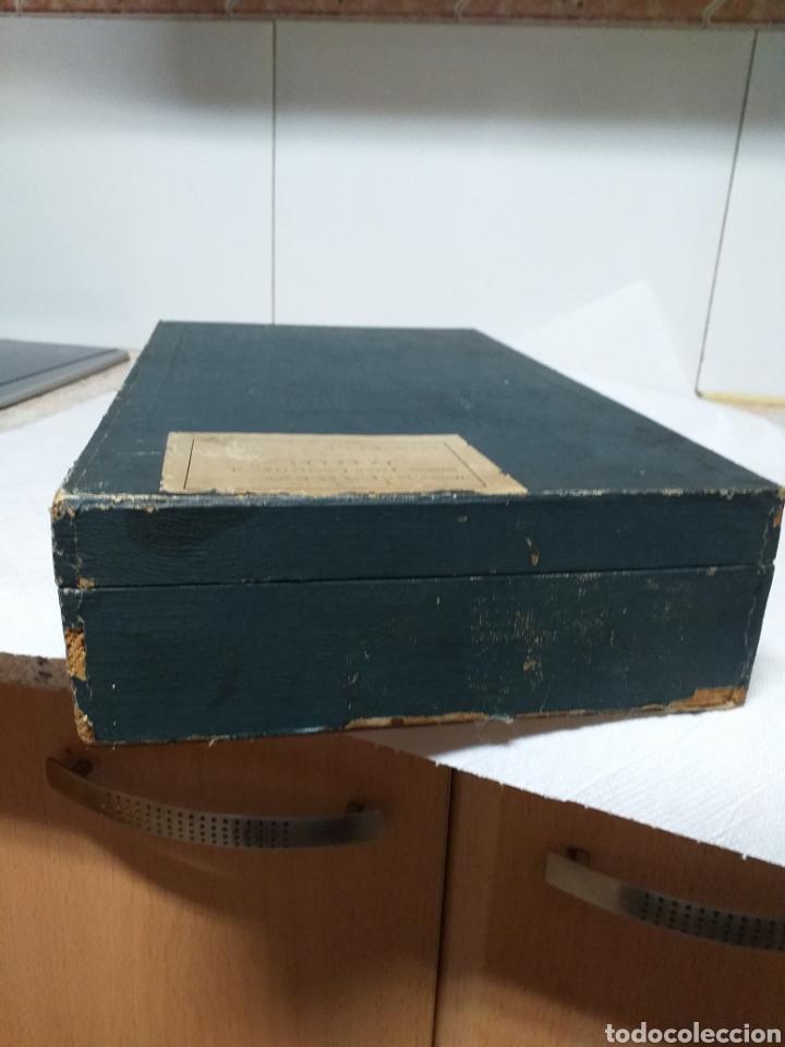 Antigüedades: ANTIGUA CAJA DOCTOR LUIS DE MARCH,EX ALUMNO Y AYUDANTE DEL DR MOURE - Foto 15 - 184719763