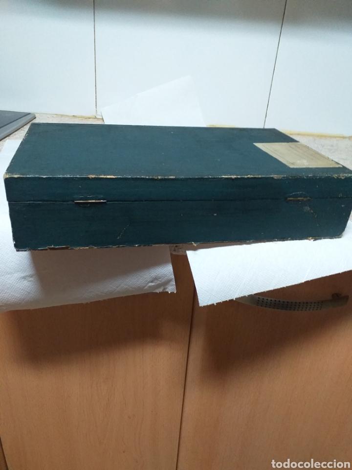 Antigüedades: ANTIGUA CAJA DOCTOR LUIS DE MARCH,EX ALUMNO Y AYUDANTE DEL DR MOURE - Foto 16 - 184719763