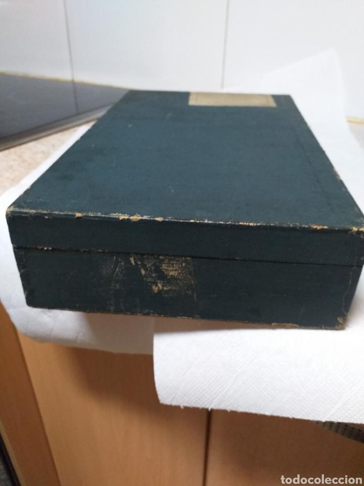Antigüedades: ANTIGUA CAJA DOCTOR LUIS DE MARCH,EX ALUMNO Y AYUDANTE DEL DR MOURE - Foto 17 - 184719763