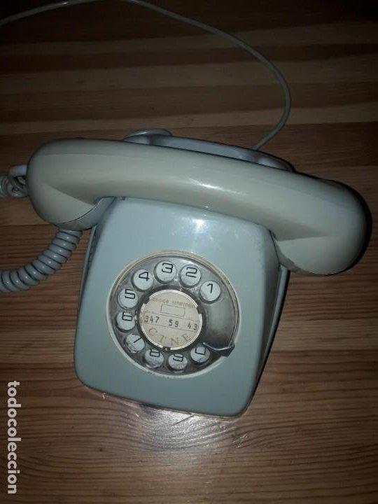 Teléfonos: Telefono Heraldo antiguo telefonica precioso funcionando - Foto 5 - 169670576