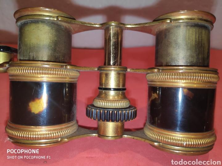 Antigüedades: Impertinentes de teatro Parisinos.XIX en carey - Foto 2 - 184775461