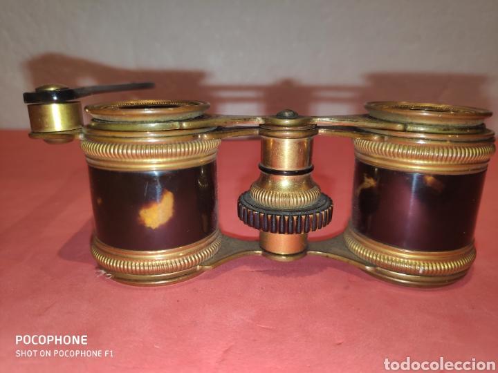 Antigüedades: Impertinentes de teatro Parisinos.XIX en carey - Foto 3 - 184775461
