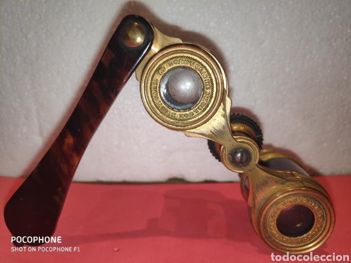 Antigüedades: Impertinentes de teatro Parisinos.XIX en carey - Foto 7 - 184775461