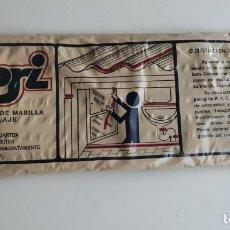 Antigüedades: CURIOSIDAD. 12 CORDONES DE MASILLA DE LA MARCA COBRI. BRICOLAJE. COLOCACIÓN CRISTALES. Lote 184880855