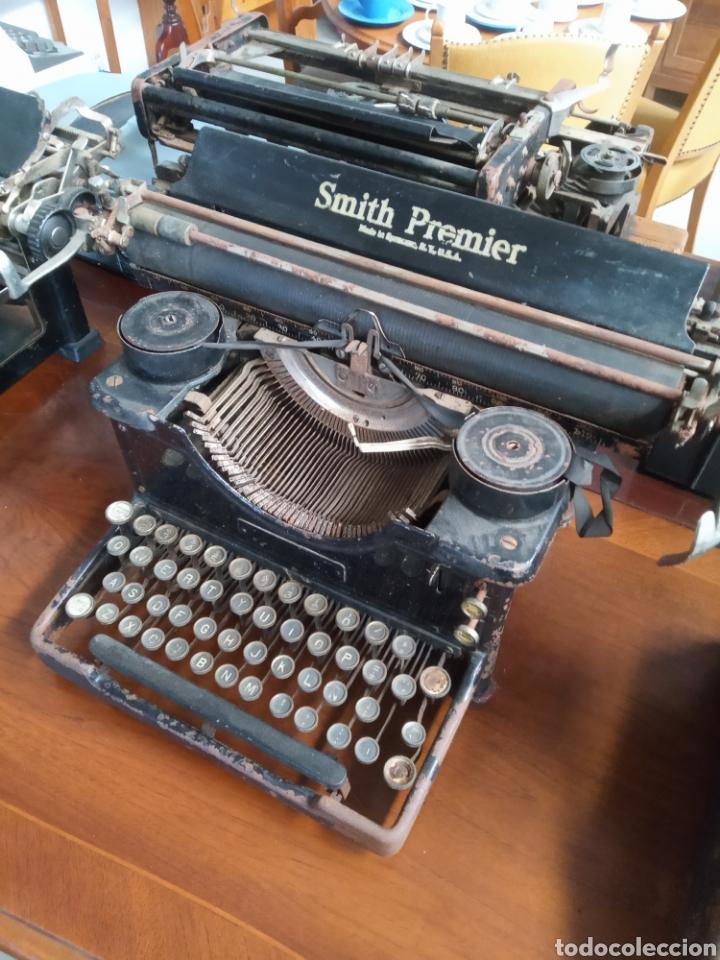 Antigüedades: Maquina de escribir smith premier muy antigua - Foto 2 - 184920753