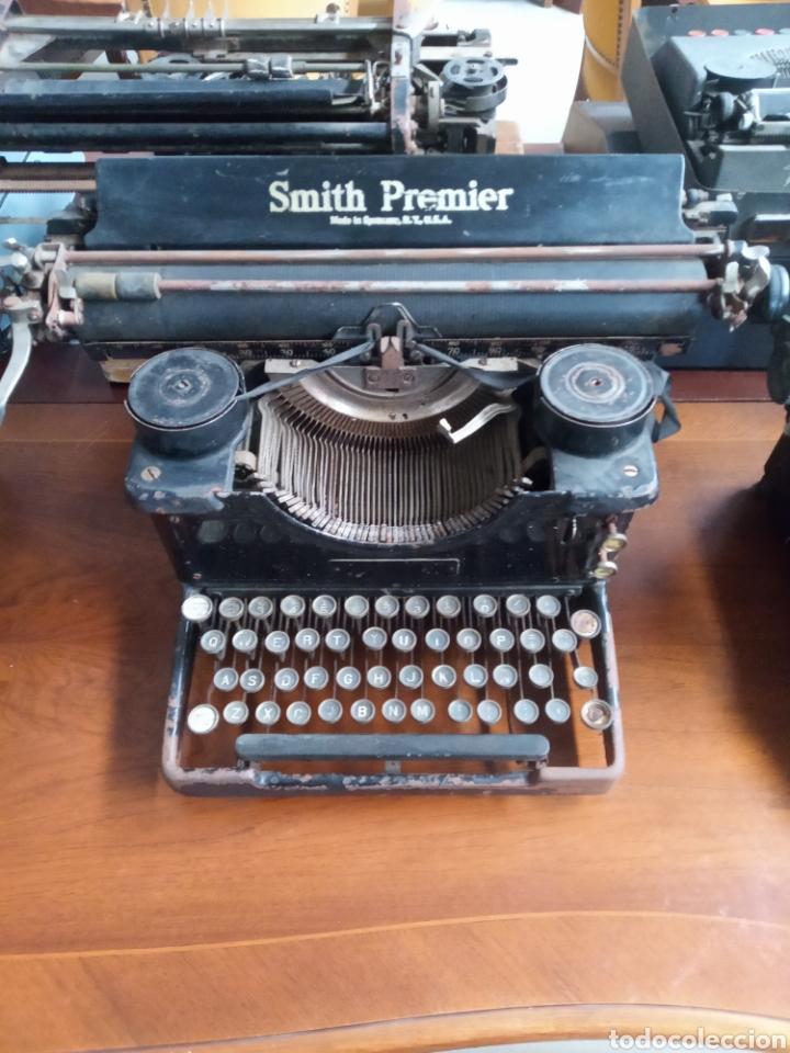 MAQUINA DE ESCRIBIR SMITH PREMIER MUY ANTIGUA (Antigüedades - Técnicas - Máquinas de Escribir Antiguas - Smith)