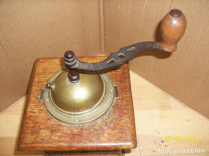 Antigüedades: ANTIGUO MOLINILLO DE CAFE ALEMAN-JAVA - Foto 2 - 185056990