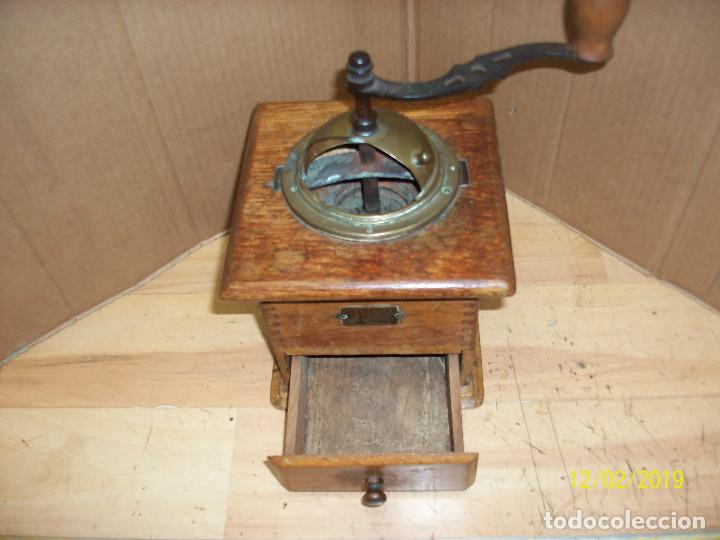 Antigüedades: ANTIGUO MOLINILLO DE CAFE ALEMAN-JAVA - Foto 3 - 185056990