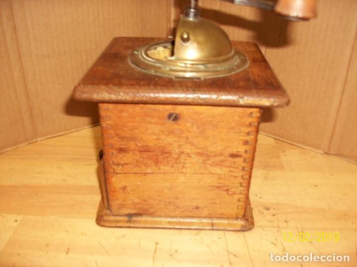 Antigüedades: ANTIGUO MOLINILLO DE CAFE ALEMAN-JAVA - Foto 5 - 185056990