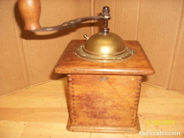 Antigüedades: ANTIGUO MOLINILLO DE CAFE ALEMAN-JAVA - Foto 6 - 185056990