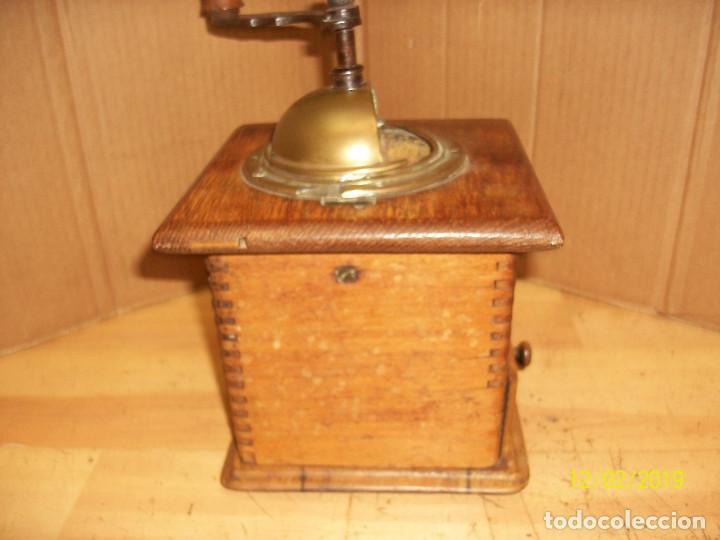 Antigüedades: ANTIGUO MOLINILLO DE CAFE ALEMAN-JAVA - Foto 7 - 185056990