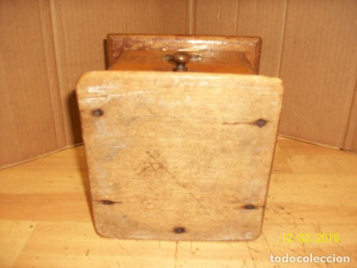 Antigüedades: ANTIGUO MOLINILLO DE CAFE ALEMAN-JAVA - Foto 8 - 185056990