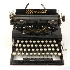Antigüedades: MAQUINA DE ESCRIBIR MONICA Nº3 AÑO 1927 TYPEWRITER SCREIBMASCHINE. Lote 185698575