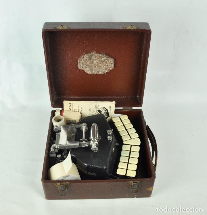 Antigüedades: Máquina taquigrafía Stenotype Grandjean año 49 - Foto 2 - 185709793