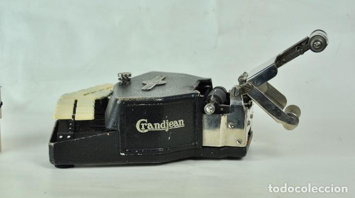 Antigüedades: Máquina taquigrafía Stenotype Grandjean año 49 - Foto 3 - 185709793