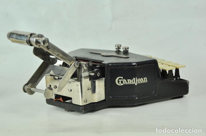 Antigüedades: Máquina taquigrafía Stenotype Grandjean año 49 - Foto 4 - 185709793