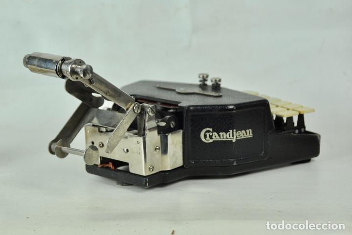 Antigüedades: Máquina taquigrafía Stenotype Grandjean año 49 - Foto 5 - 185709793