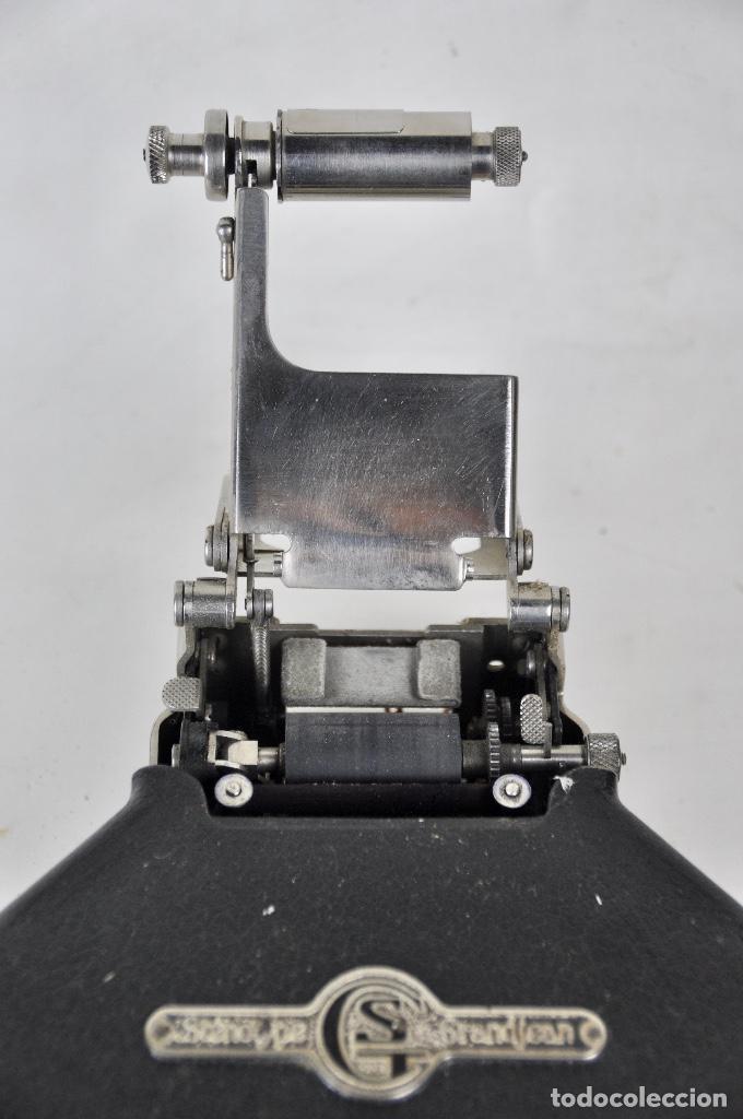 Antigüedades: Máquina taquigrafía Stenotype Grandjean año 49 - Foto 6 - 185709793