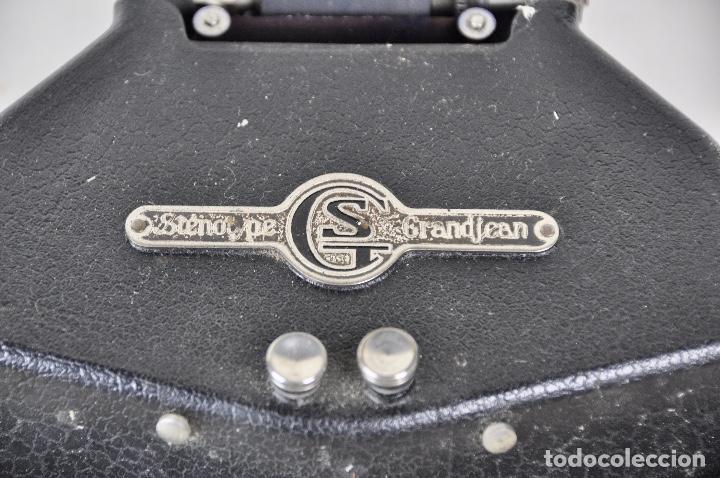 Antigüedades: Máquina taquigrafía Stenotype Grandjean año 49 - Foto 7 - 185709793